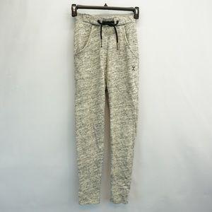 Onepiece Whatever Crop Sweatpants Gray Melange XS